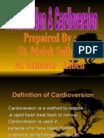 Defibrillation Amp Cardioversion