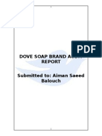 Dove Brand Audit Report