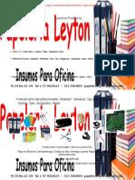 Brochure Papeleria