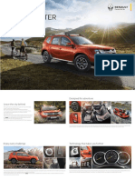 New Renault DUSTER 8 Page Brochure