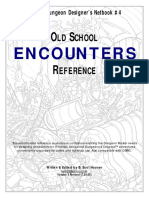 Classic Dungeon Designer's Netbook #4  - Old School Encounters Reference.pdf