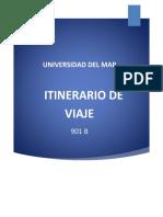 Itinerario de Viaje Al Estado de Hidalgo