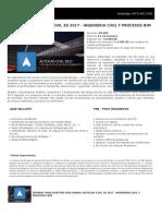 Ficha Diplomado Autocad Civil Ingeniería Civil en 3d