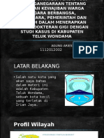 Agung Ariesta Dheona 1112012002 Kabupaten Teluk Wondama]