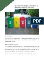 Proyecto de Reciclaje Anexo