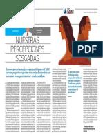 Nuestras percepciones sesgadas - Hugo Ñopo - El Comercio (CADE) - 051216
