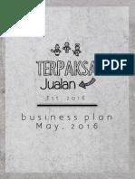 Terpaksa Jualan - Business Plan