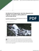 Accidente de Chapecoense.