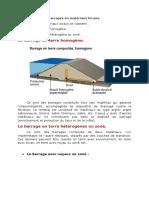 Classification Des Barrages en Matériaux Locaux