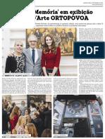 Notícia da Exposição - O Culto Da Memória - Galeria d'Arte ORTOPOVOA - Nov2016