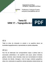 NRM 17 Topografia
