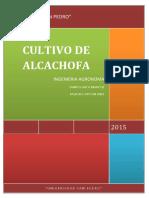 Trabajo Alcachofa 2015 Tr