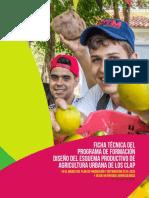 Ficha Tecnica Programa de Formacion