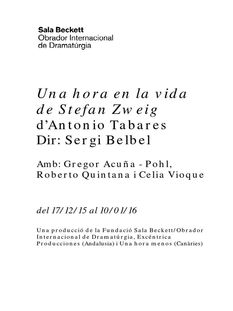 Una Hora en La Vida de Stefan Zweigd 86a31c8d951
