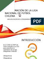 Programación de La Liga Nacional de Fútbol Chilena