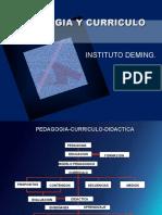Pedagogia,Curriculo y Didacticas[1]