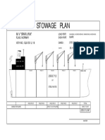 Stowage Plan- Only Suape Cargo