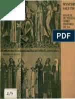 Mysterium Salutis 4.1 - El aconteciminto salvifico en la Comunidad Cristiana