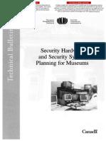 TB19-SecurityHardwareandSecuritySystemPlanningforMuseum