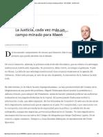 La Justicia, Cada Vez Más Un Campo Minado Para Macri - 05.12