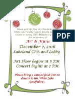 art   music holiday show
