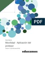 Movilidad v1.0 - App Del Profesor 1