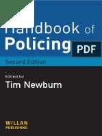 NEWBURN, Tim. Handbook of Policing