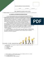 Evaluación Global de Ciencias Naturales