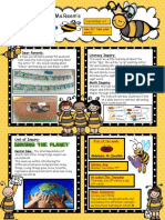 Letter Qq Insect Themed Newsletter