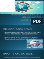 ireland and the global economy ppt