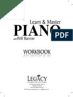 Páginas DesdeLearn & Master Piano - Lesson Book