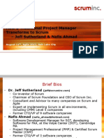 Presentation - How a Traditional Project Manager Transforms to Scrum