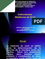 Instrumentos Medidores de Nivel