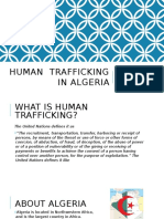 human  trafficking in algeria