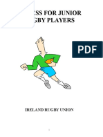 FITNESS FOR JUNIOR RUGBY PLAYERS