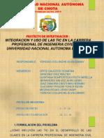 Diapositivas de Proyecto de Investigación 2016