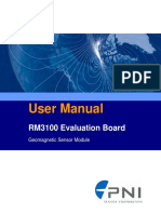 RM3100 Eval Board User Manual r022