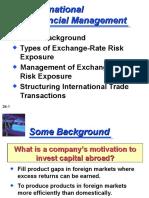 Global Financial Mgt