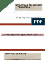 Asociación delictiva y delincuencia organizada