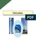 Traction Plastique Analyse Non Linéaire Des Structure