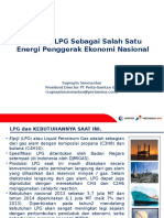 LPG Presentation to BKKPII-UNSRI