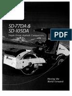 Ficha Tecnica Vibrocompactador Ingersoll Rand Sd-77da