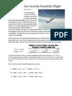 tryston taylor- zero gravity parabolic flight
