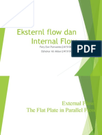 Eksternal Flow Dan Internal Flow