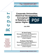 Corporate Universities_Historical Development, Conceptual Analysis & Relations with Public-Sector Higher Education_July 2002.pdf