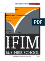 HR Project on Performance Management