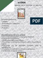 DIAPOSITIVAS - ACIDOS