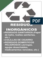Residuos inorganicos