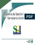 Presentación SIG - Cervecería UNION Colombia