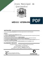 s Pref Queimados Rj Medico Veterinario Prova